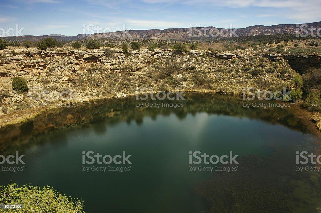 Montezuma's Well stock photo
