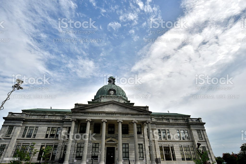 Montgomery County Court House In Norristown Pennsylvania
