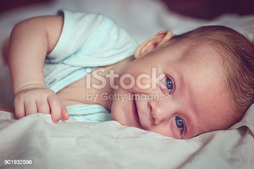 istock 3 month baby boy 901932596