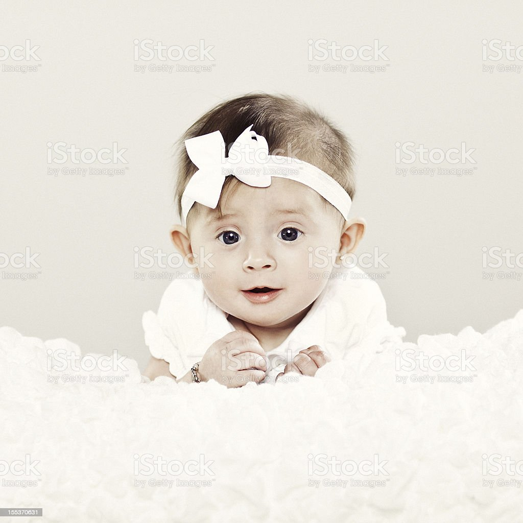 5 Month Old Baby royalty-free stock photo