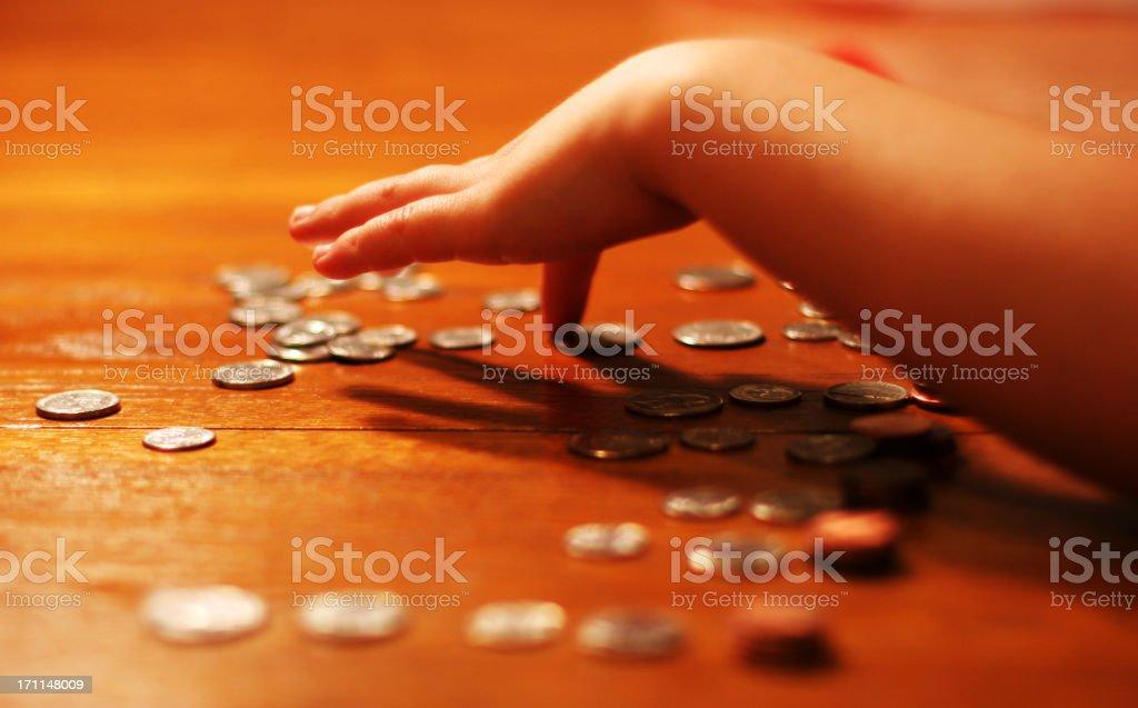 Monthly Allowance stock photo
