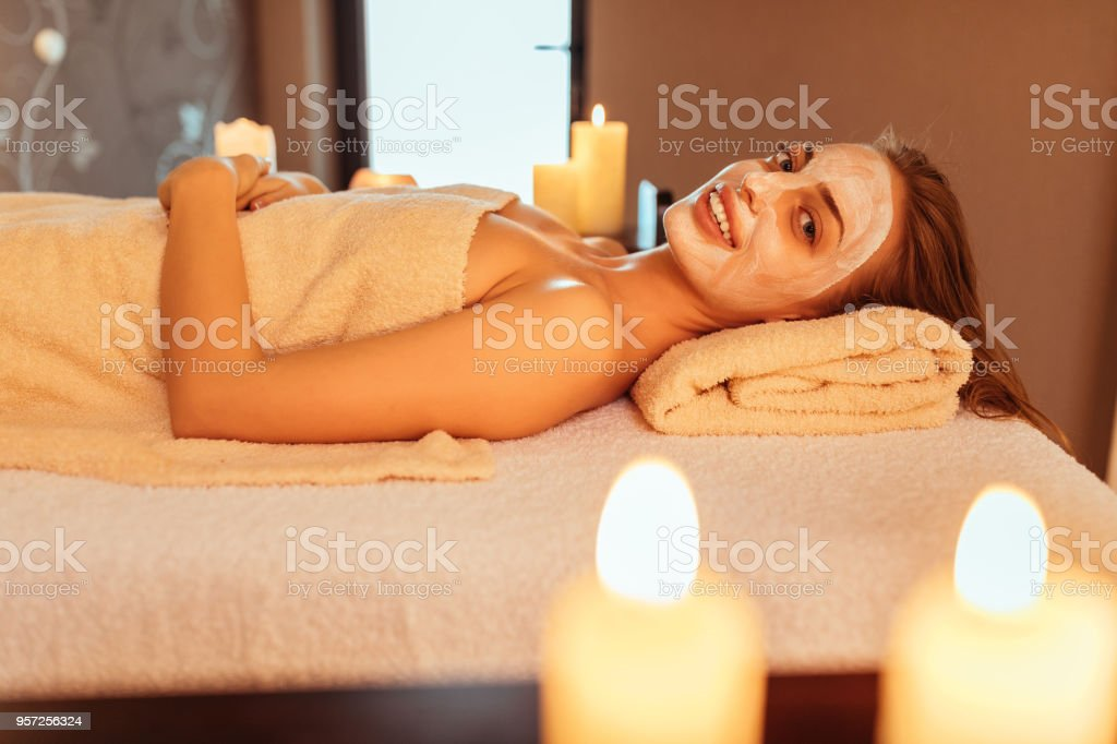 A monthly beauty routine stock photo