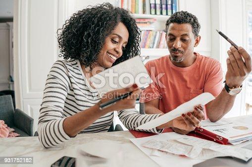 istock Monthly budget 931752182