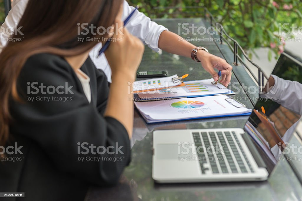 Monthly report is sometimes a nightmare to employee stock photo