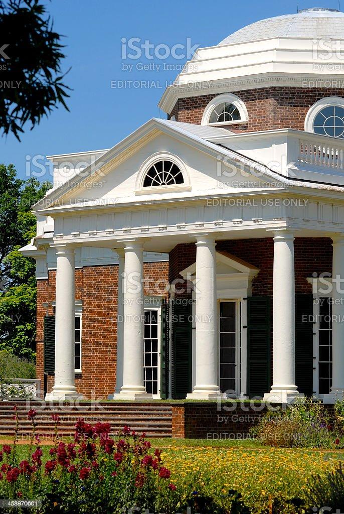 Monticello royalty-free stock photo