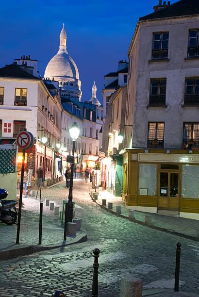 Montmartre par nuit - Photo