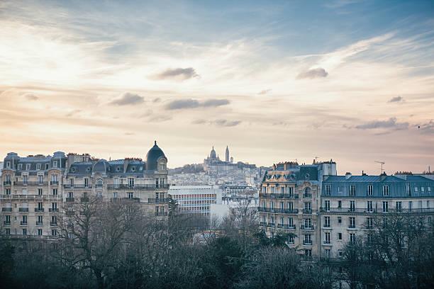 Colline de Montmartre et du Sacré-Cœur à Paris, France - Photo