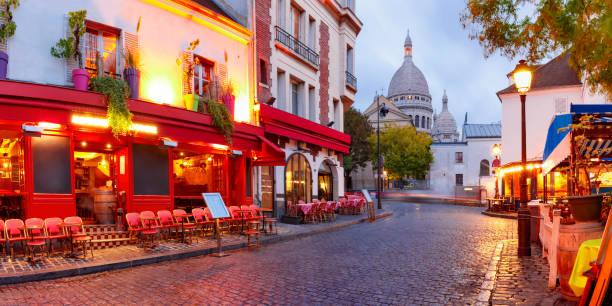 montmartre i paris, frankrike - montmatre utsikt bildbanksfoton och bilder