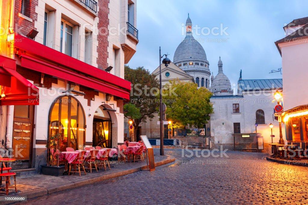 Montmartre à Paris, en France - Photo de Antique libre de droits