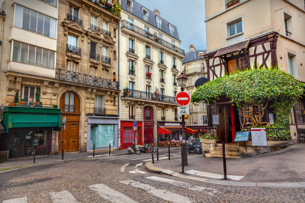 Montmartre in Paris stock photo