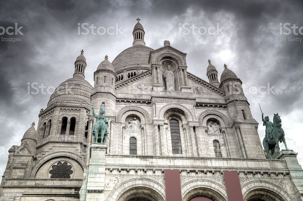 Montmartre Paris. stock photo