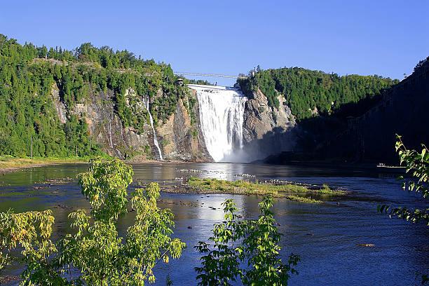 Wasserfälle Montmorency Wasserfälle Quebec Ireland – Foto