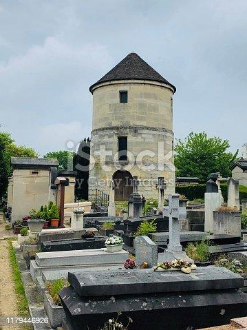 Montparnasse cemetery, in Paris