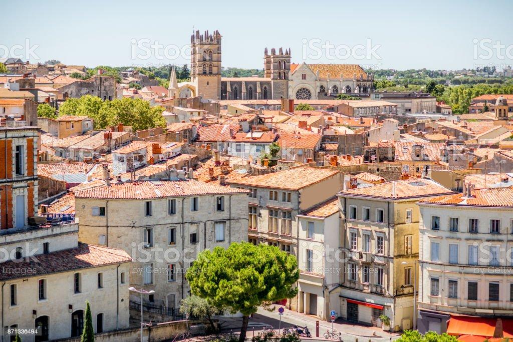 Stadt Montpellier in Frankreich – Foto