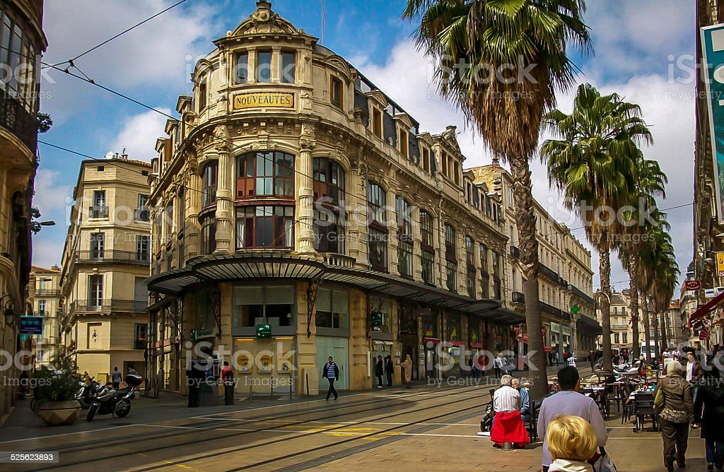 Montpellier France stock photo