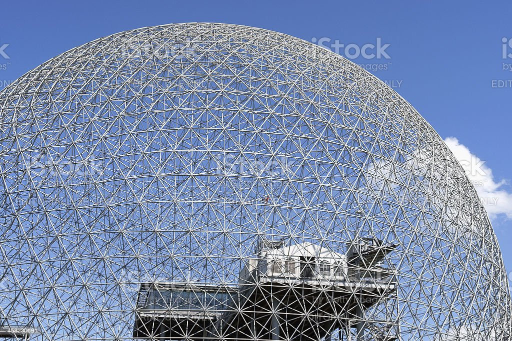 Montreal Biosphere, Canada stock photo