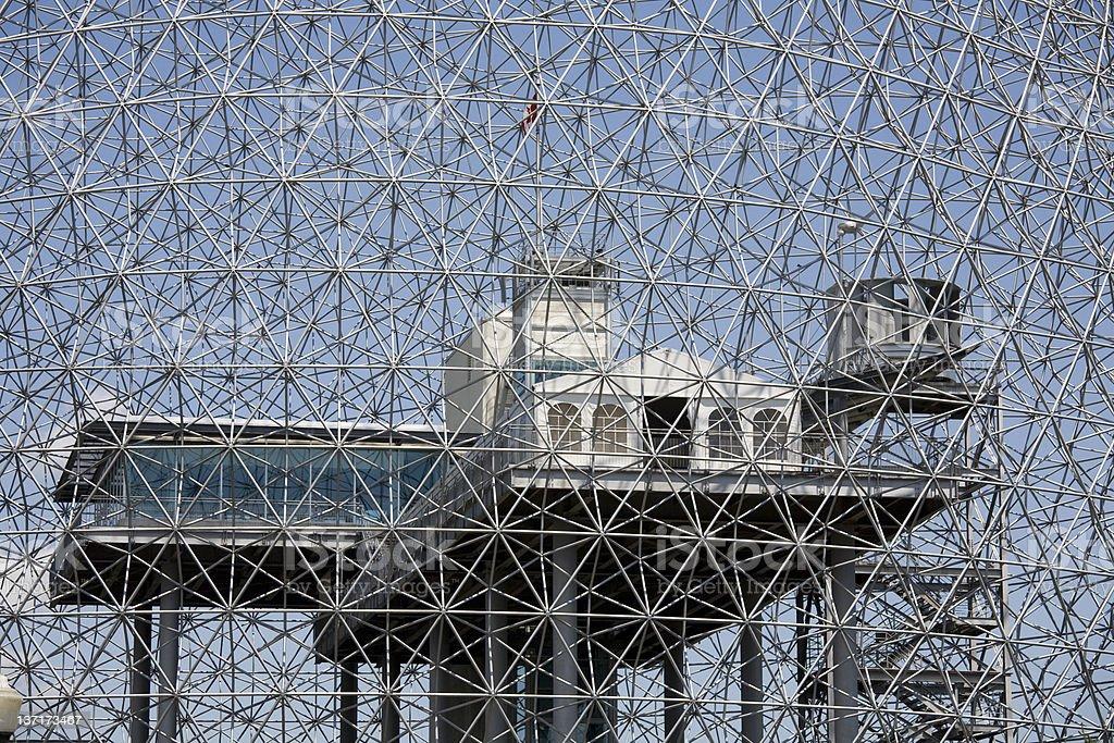 Montreal Biosphere royalty-free stock photo