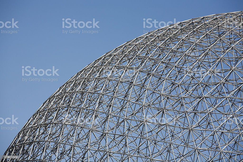 Montreal Biosphere royalty-free stock photo