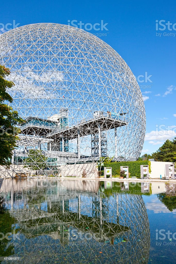 Montreal, Biosphère stock photo