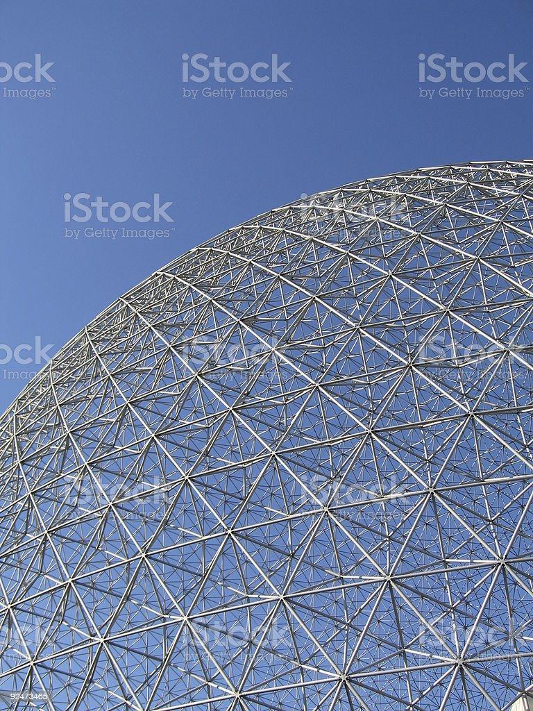 Montreal Biosphere_2 royalty-free stock photo