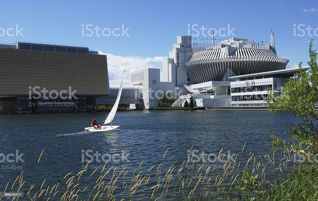 Montreal casino royalty-free stock photo