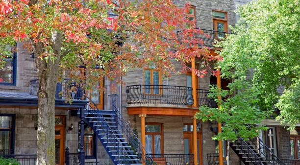 montreal city - плато стоковые фото и изображения