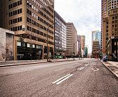istock Montreal Deserted Boulevard René-Lévesque during Covid 19 crisis 1220419911