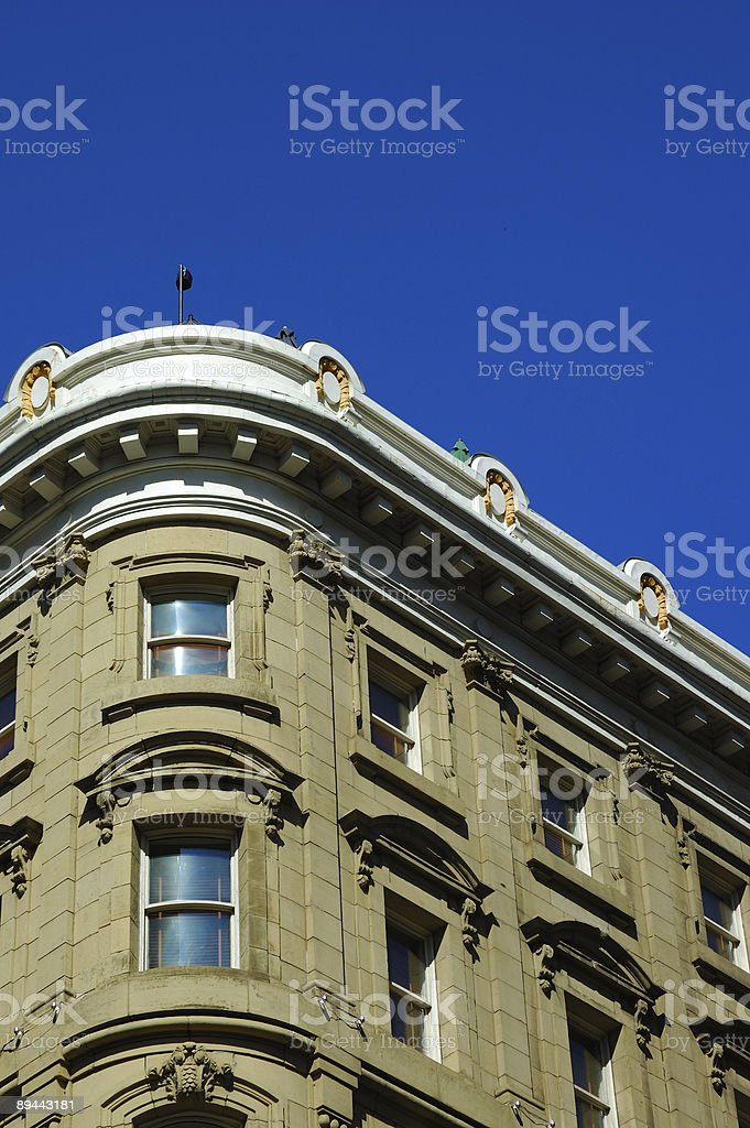 Montreal Hotel in an old building royalty-free stock photo