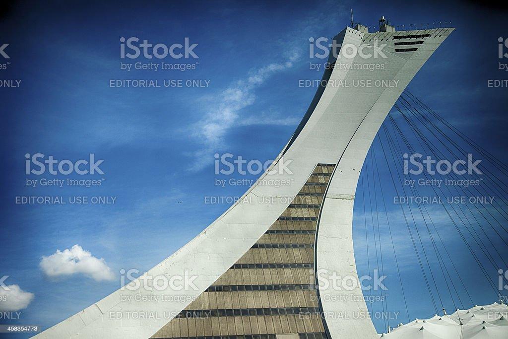 Montreal Olympic Stadium royalty-free stock photo