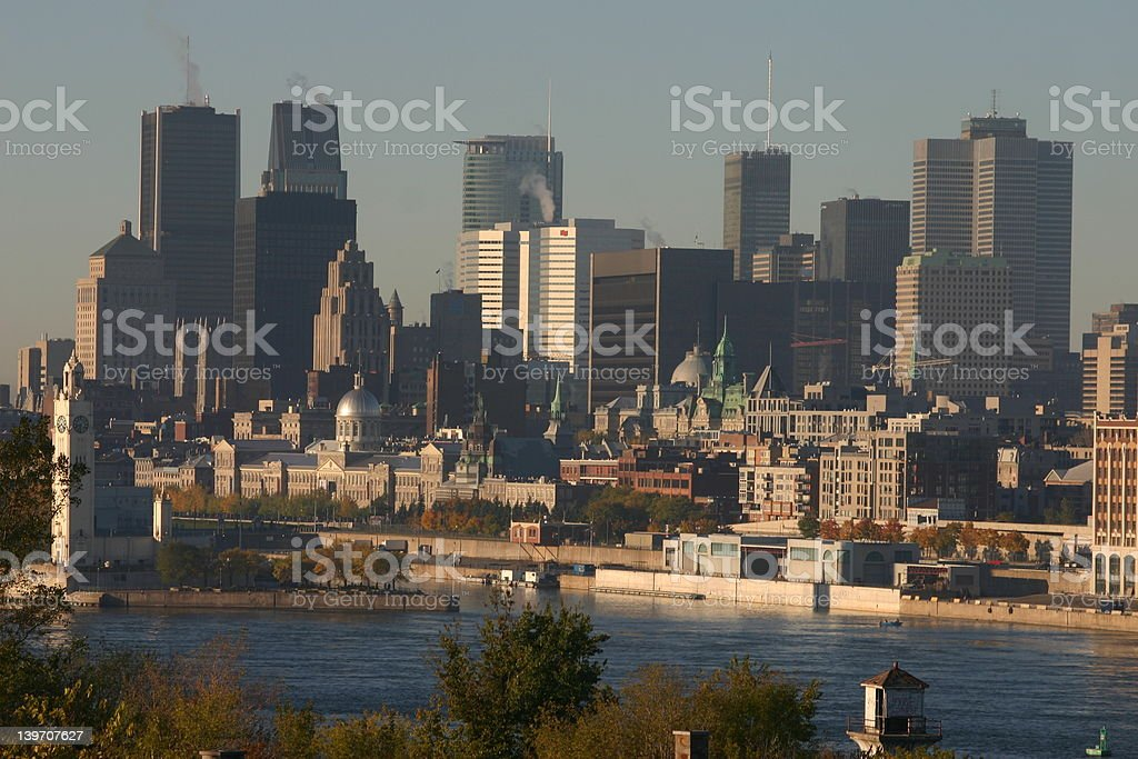 Montreal royalty-free stock photo