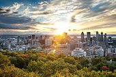 istock Montreal skyline from Mont Royal 1069501086