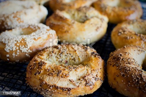 istock Montreal style bagels 1134579587