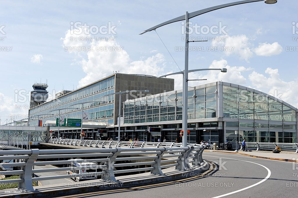 Montréal  Trudeau Airport, Canada stock photo