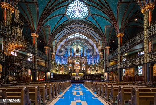 Montreal's Notre-Dame Basilica is one of the crown jewels in Quebec's rich religious heritage