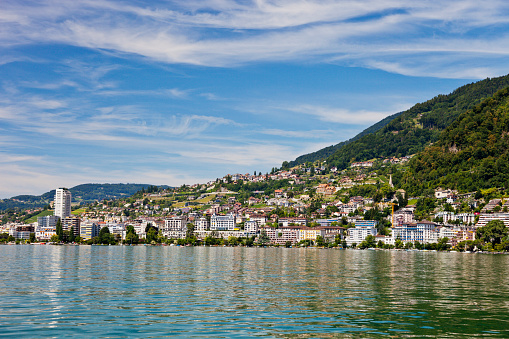 Montreux on the Swiss Riviera