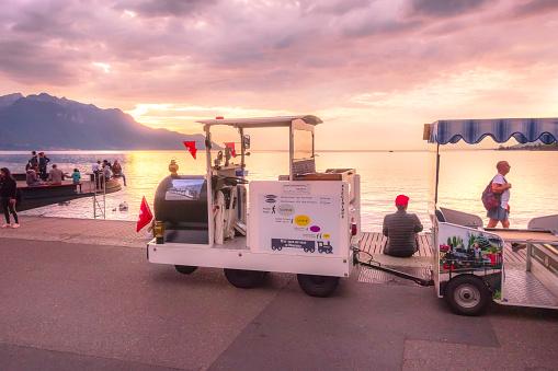 Montreux, Switzerland, tour train