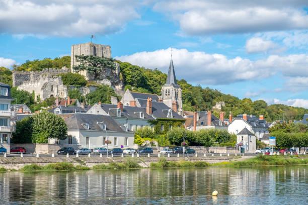 MONTRICHARD Burg und Stadt in Touraine Region Fluss Cher, Frankreich – Foto