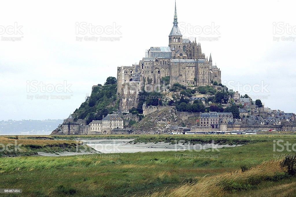 Mont-Saint-Michel (Normandy, France) royalty-free stock photo