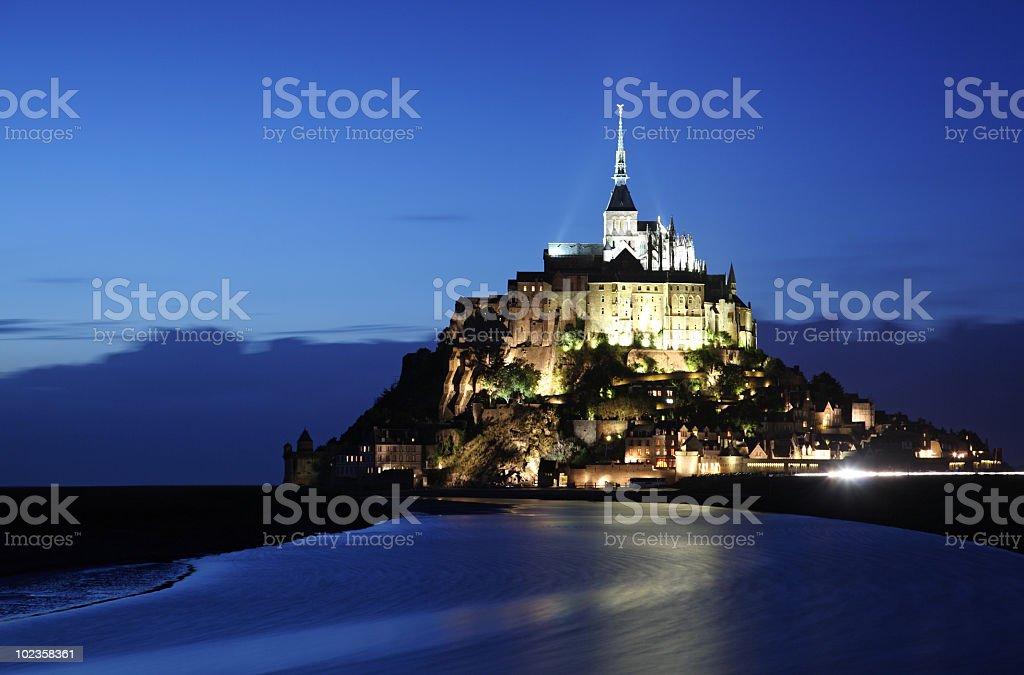 Mont-Saint-Michel royalty-free stock photo