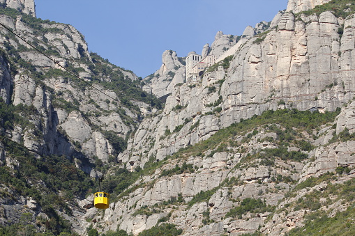 Montserrat and aerial cable car