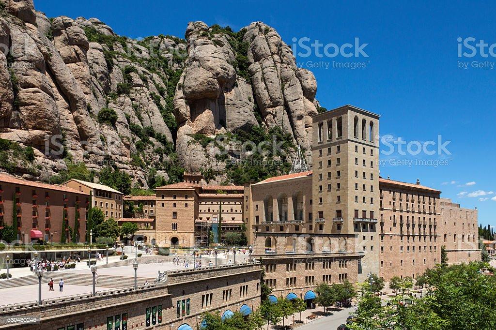 Montserrat - Catalonia - Spain stock photo