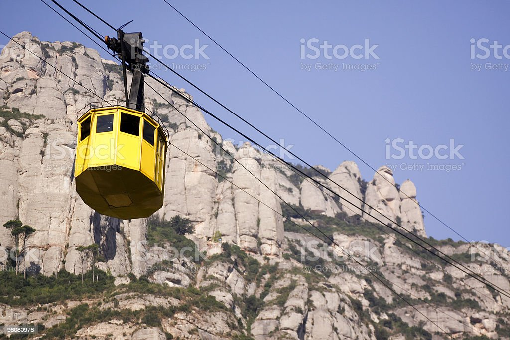 Montserrat in Catalonia, Spain royalty-free stock photo