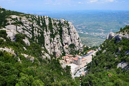 Montserrat is a mountain near Barcelona.