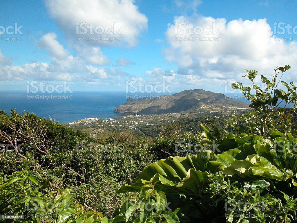 Montserrat Island stock photo