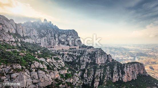 istock Montserrat Monastery Barcelona Catalonia Spain 1318389186