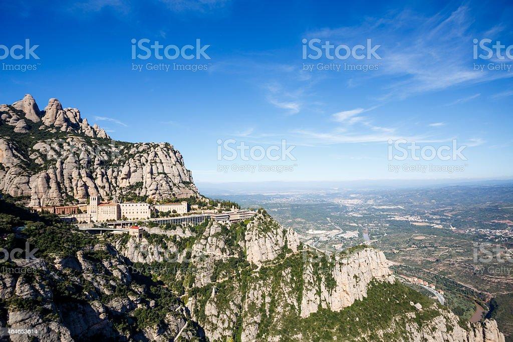 Montserrat mountains stock photo