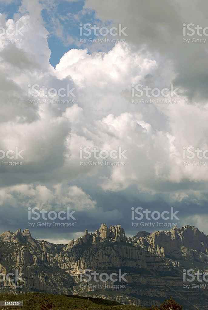 Montserrat royalty free stockfoto