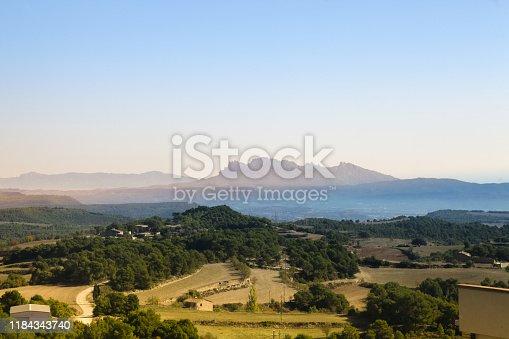 Montserrat-catalonia landscape