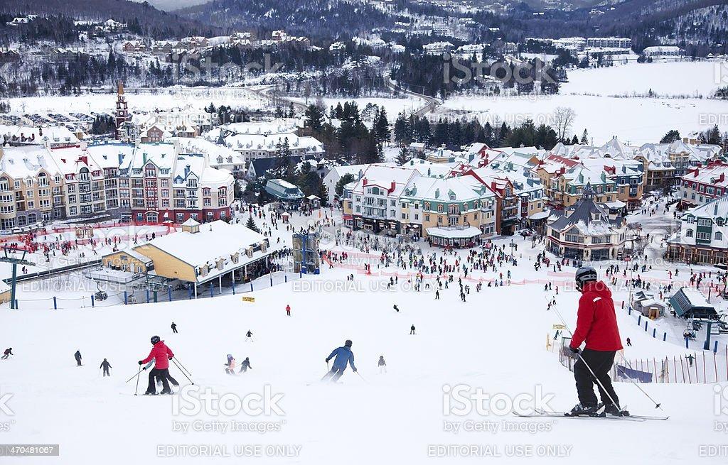 Fotografía de Monttremblant Resort De Esquí Quebec Canadá y más ...