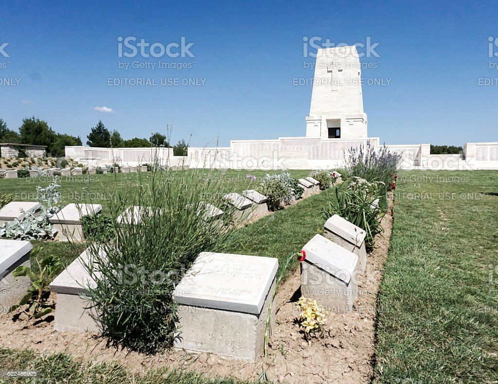 Monument at Lone Pine stock photo